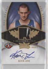 3dd67f02c 2008-09 Fleer Hot Prospects 141 Kevin Love Minnesota Timberwolves RC Rookie  Card