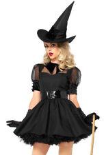 Leg Avenue black vintage witch bodice dress costume