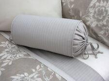 NEW Custom Ralph Lauren Odeon Gray Stripe Neckroll Pillow Neck Roll