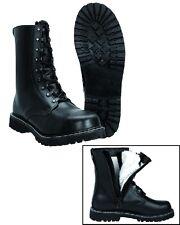 Pilotenstiefel Größe 45 Stiefel mit Reißverschluß Springerstiefel Kampfstiefel