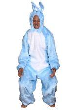 Costume coniglio di Pasqua Bunnykostuem celeste unisex Peluche coniglietto NUOVO