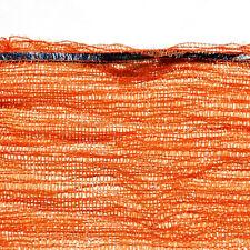 Orange Strong Net Woven Sacks Mesh Bags Logs Kindling Wood Log Vegetables WR5
