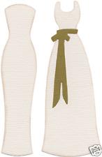 QuicKutz 4x4 Single WEDDING DRESS 2-Dresses REV-0206-S