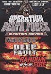 Operation Delta Force: Mayday/Deep Fault/Random Fire, Good DVD, Todd Jensen, Var