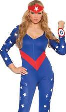 3-pc American Hero 9144X Plus Size Elegant Moments Halloween Cosplay Costume