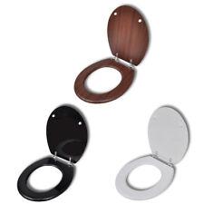 WC Sitz Klodeckel Toilettensitz Toilettendeckel Toilette Deckel MDF