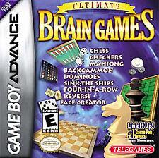 Ultimate Brain Games (Nintendo Game Boy Advance, 2003)
