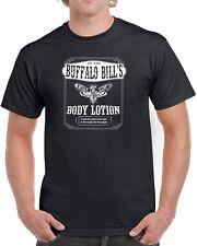 355 Buffalo Bill Body Lotion mens T-shirt funny humor scary movie 90s lambs new