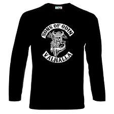 Vikings Sons of Odin Valhalla Long Sleeve T-Shirt