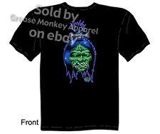 Shrunken Head T-shirt, Kustom Kulture Clothing Tattoo Tee, Sz M L XL 2XL 3XL