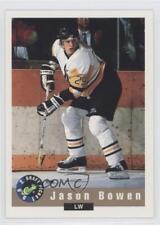 1992-93 Classic Draft Picks #9 Jason Bowen Tri-City Americans (WHL) Hockey Card