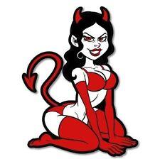 Sexy Devil Car Vinyl Sticker - SELECT SIZE
