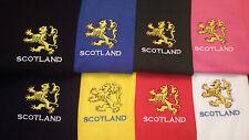 RAMPANT LION DESIGN EMBROIDERED ON A HOODED SWEATSHIRT SCOTLAND SCOTTISH SCOTS