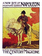The Century magazine Napoleon issue Decor. Graphic Interior Art design. 3276