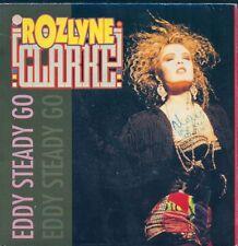 45 TOURS--ROZLYNE CLARKE--EDDY STEADY GO--1990