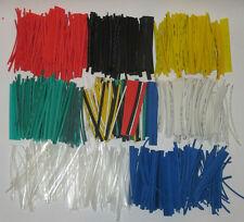 Schrumpfschlauch im Sortimentsbeutel, Nachfüllpack versch. Farben im 100er-Pack