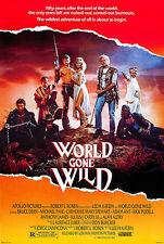 World Gone Wild - 1987 - Movie Poster