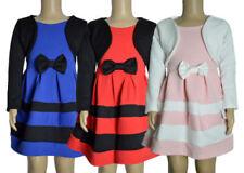 Mädchen Kleid Langarm Kleid Party Dress Kleid