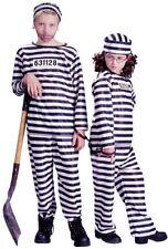Kids Jailbird Inmate Convict Costume sizes med,lg  fw8748