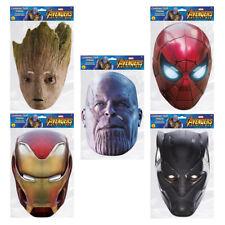 Araña De Hierro Vengadores Infinito Guerra carácter Máscara Facial celebración partidos Marvel