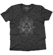 Triangle Eye Stylish Symbolic Cool Beautiful Spirit Animal V-Neck T-Shirt