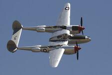 Giant 1/6 Scale American Lockheed WW-II P-38 Lightning Plans,Templates,Instruc