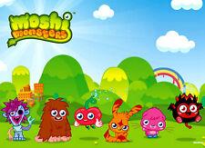 Personalizzata laminato a4 Moshi Monsters Luogo Tappetino SOTTOPIATTO