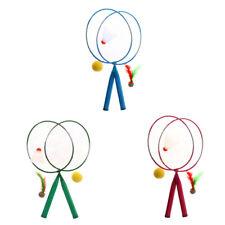 Kids Sturdy Mini Badminton Rackets Birdie Set Outdoor Indoor Sport Game Toys