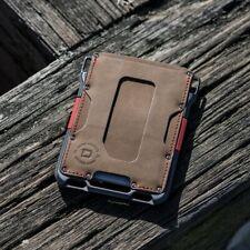 Dango M1 Maverick Wallet - Single Pocket Leather (USA)- Black, Brown, Slate Grey