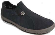 RIEKER Schuhe Slipper Halbschuhe Sneaker echt Leder blau Rieker Tex Klima NEU