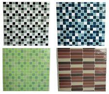 Aufkleber Fliesen Dekorfolie 3 St. a  20 x 20 cm Bad Küche Mosaik Wanddekoration
