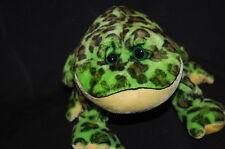 Green Bullfrog Webkinz Plush No Code Stuffed Animal