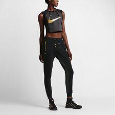 Nike NikeLab x Olivier Rousteing Balmain Women's Crop Top 834290 010 Size M L