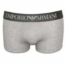 Emporio Armani Premium Stretch Katoen Boxer trunk, mergel grijs