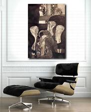 Gustav Klimt Jurisprudence Final State Repro Art Canvas Poster Print Wall Decor
