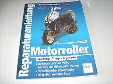 Reparaturanleitung Motorroller Aprilia / Peugeot / Honda / Yamaha / Suzuki / BMW