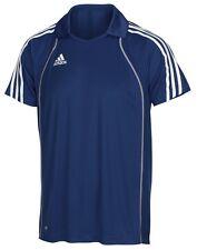 ABVERKAUF!  adidas T8 Polo-Shirt Herren blau Sportpolo Gr. XS - E19772
