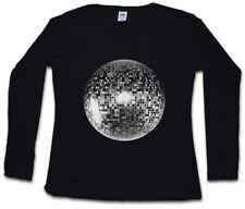 Discoteca light I Señora manga larga T-Shirt oldies Music música nerd techno indie luz