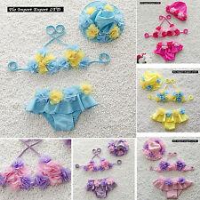 Costume Mare Bikini Bambina 1-6 anni Inserti Fiore Girl Bikini Swimsuit BIKCH01