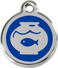 Médaille gravée chat red dingo bocal poisson plusieurs 11 couleurs