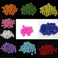 Lot 20 Perle Cube 8mm Perle a facette couleur au choix creation bijoux, collier