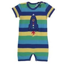 Green Cotton Baby Einteiler Spieler Schlafanzug Overall Rakete Rocket 68 74 80