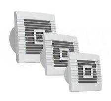 Wand-Bad-Lüfter Ventilator Jalousie Bad WC Küche Rückstauklappe Bewegungsmelder