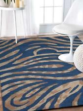 Animal Print Modern Wool Carpet Indian Hand Tufted Oriental Area Rug