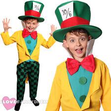 Enfant hatter costume livre scolaire semaine costume robe fantaisie enfant garçons filles