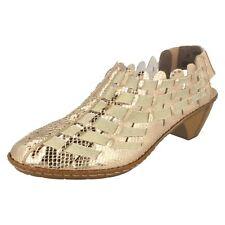 Rieker 46778 metallisch Sling Schuhe