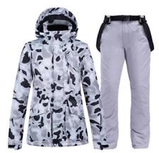 Men Women Warm Waterproof Ski Clothes Snowboard Coat Jacket+Pants Set Snowsuits