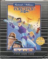 ROBOTRON  Lynx Atari Collectors!! Rare New Boxed 1P