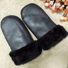 Real Sheepskin Lady Winter Women Mitten Gloves Women Winter Warm Mittens Choice