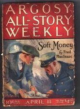 Pulp ARGOSY ALL-STORY April 11, 1925 - Ralph Milne Farley RADIO BEASTS Pt 4 of 4